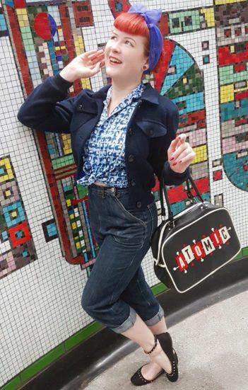Displaying my Freddies of Pinewood Lana Jeans